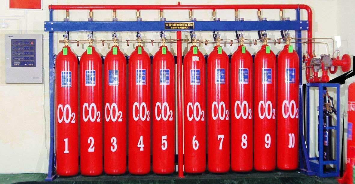 二氧化碳自动灭火设备