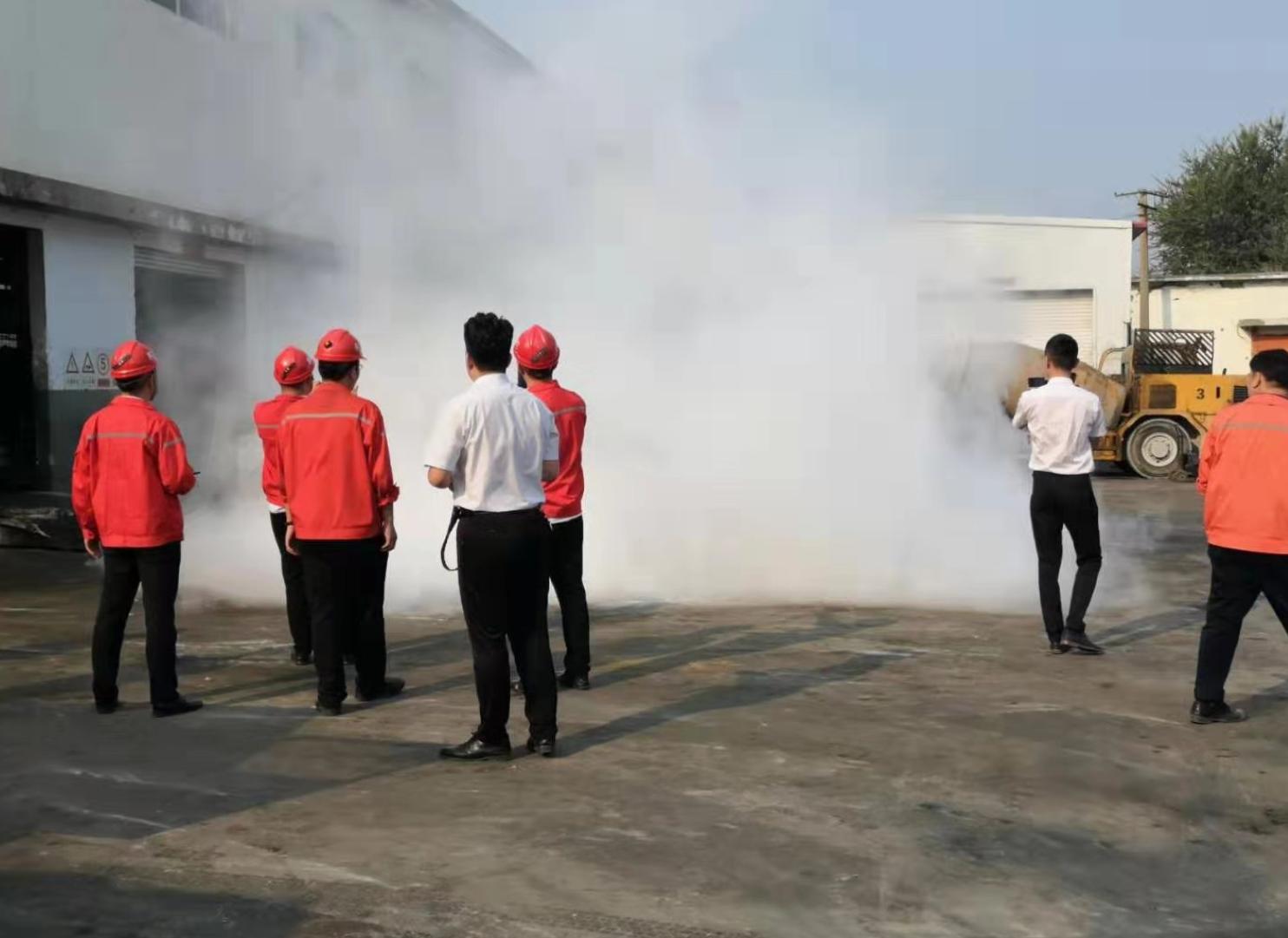 矿用工程车辆自动灭火设备
